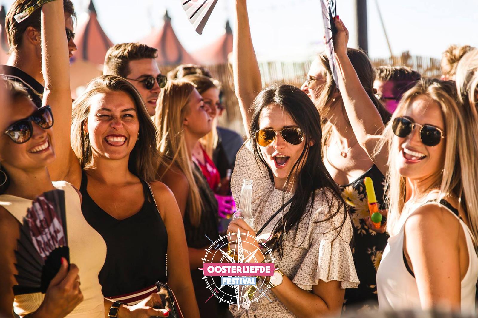 NYMA-terrein in Nijmegen omgetoverd tot groots liefde festival