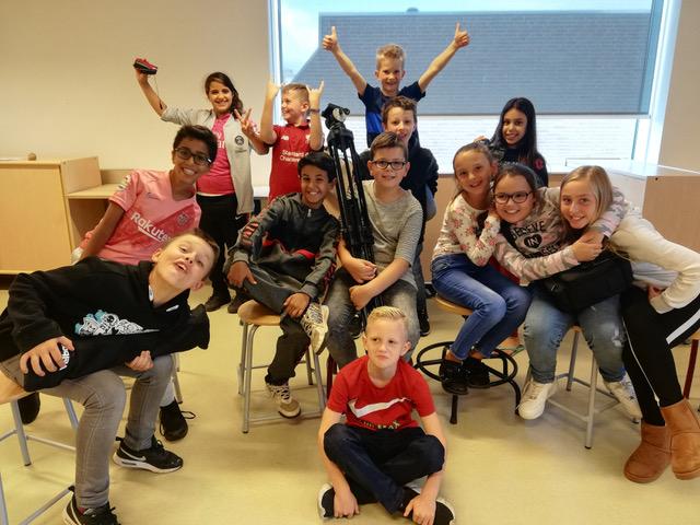 Kinderen uit Waterkwartier verfilmen verhalen van hun wijk