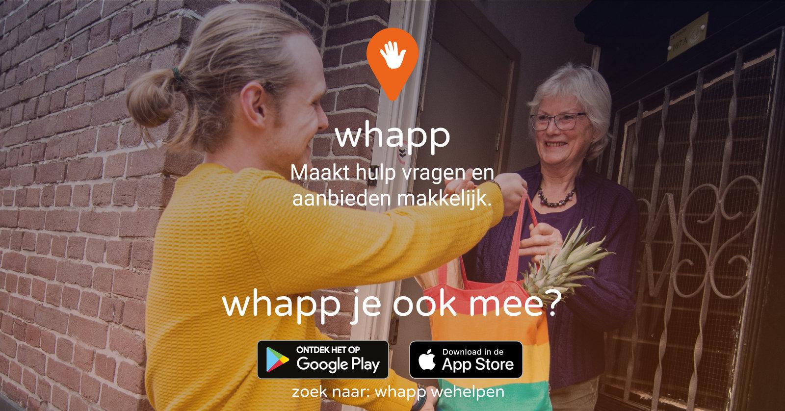 Vrijwilligerscentrale Nijmegen bundelt krachten met WeHelpen.nl voor coronahulp
