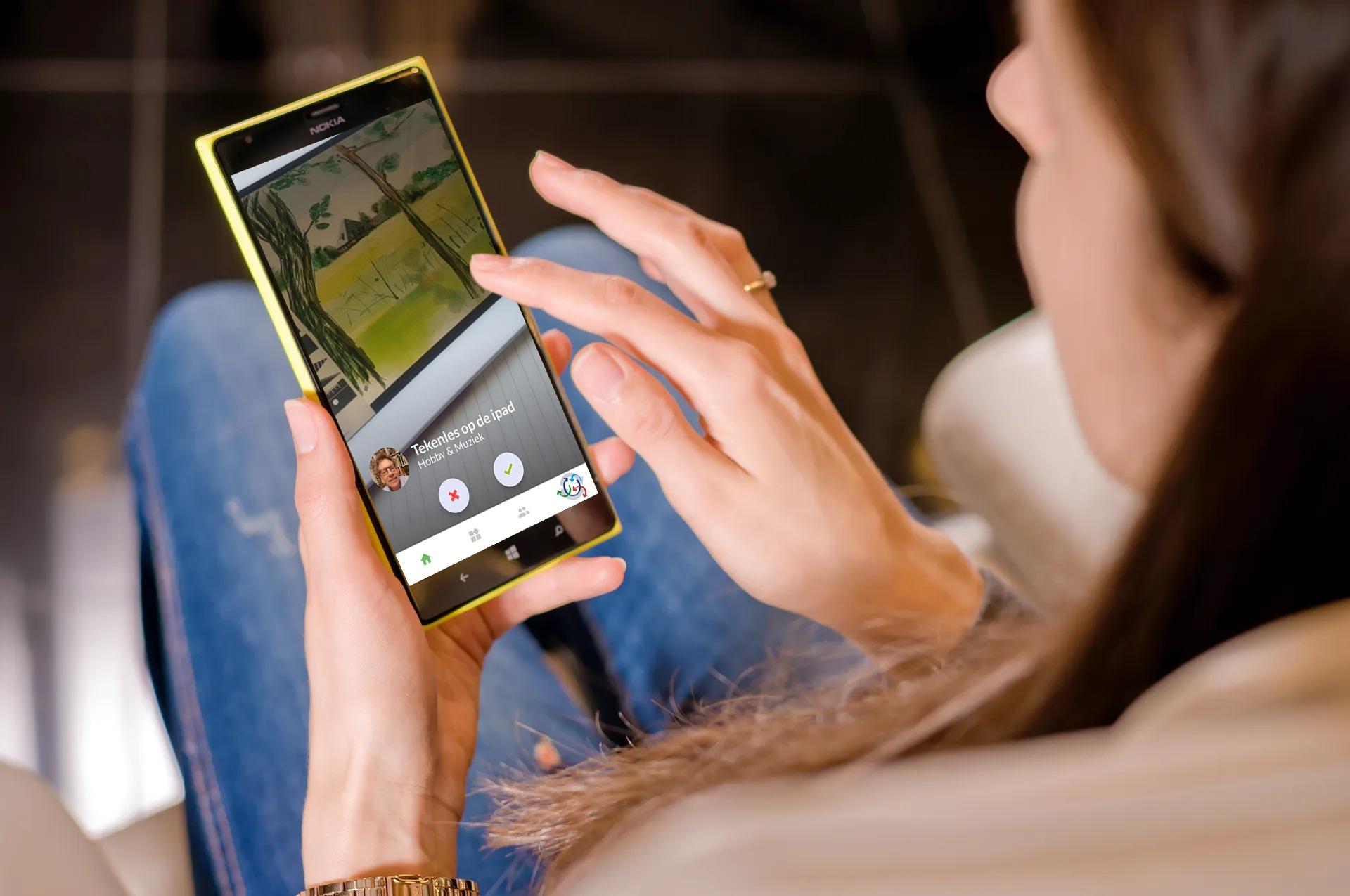 Eerste app ter wereld die ruilen in netwerken mogelijk maakt