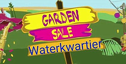 Garden Sale 11 oktober in het Waterkwartier