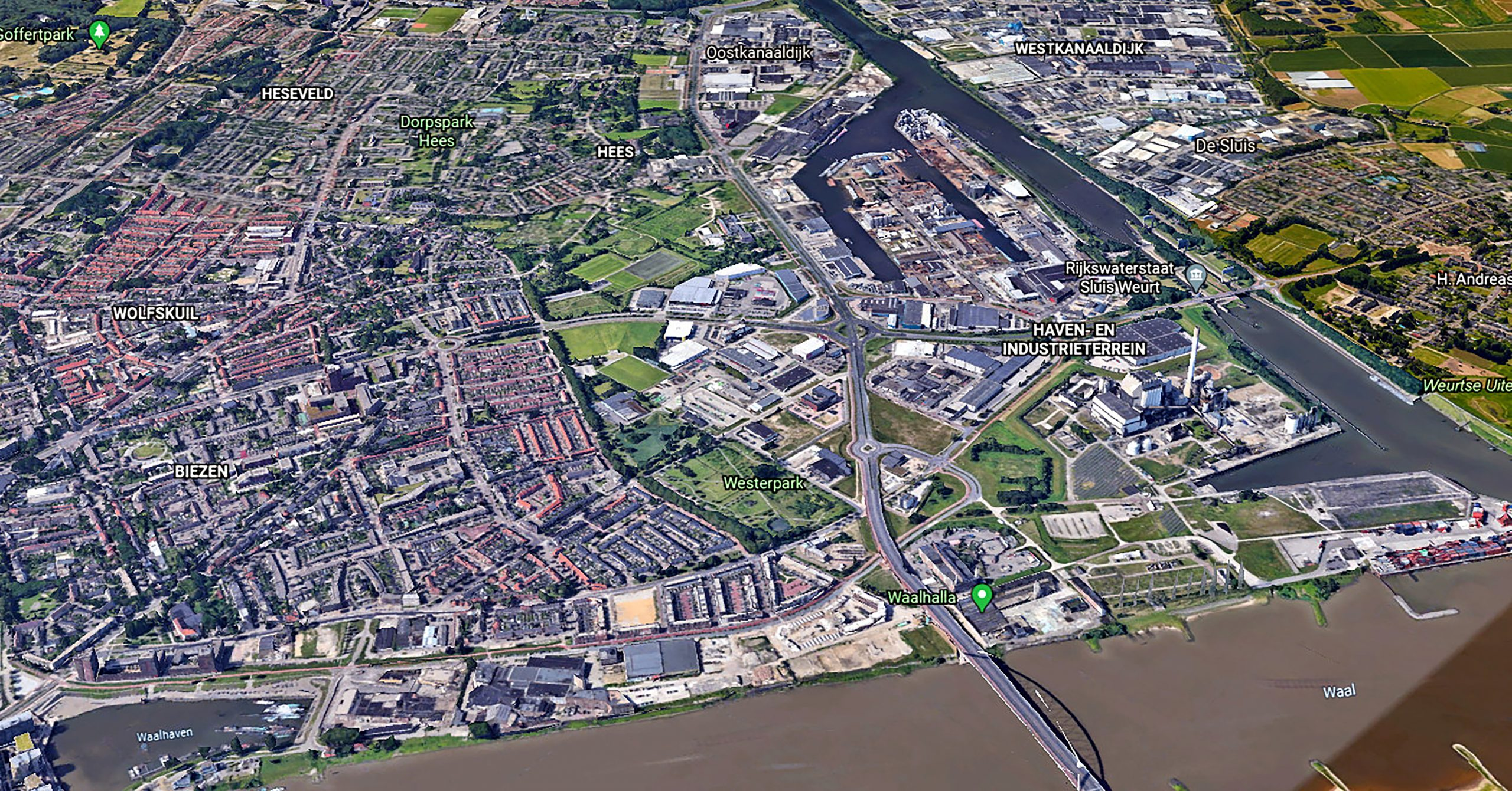 Luchtkwaliteit Nijmegen West en Weurt